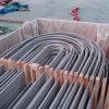 Tubos soldados de la curva en U del tubo en forma de u del acero inoxidable para el cambiador de calor