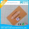 Tarjeta de la frecuencia ultraelevada RFID del PVC de la ISO 18000-6c Gen2 860-960MHz del precio de fábrica