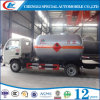 Mini LPG camion de Bobtail de gaz de Dongfeng 4X2