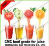 Контроллер CMC натрия Food Grade для получения сока напиток Fh3000 Fh6000 с высокой вязкостью при низких температурах