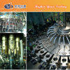 Полноавтоматический завод яблочного сока стеклянной бутылки разливая по бутылкам