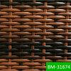 Placement UV-Résistant de tissage de rotin de jacinthe noire de modèle (BM-31674)