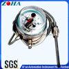 Thermomètre à pression capillaire à contact électrique en acier inoxydable