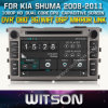 KIA Shuma 2008-2011年のCarのためのWitson Car DVD DVD GPS 1080P DSP Capactive Screen WiFi 3G Front DVR Camera