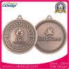 L'oggetto d'antiquariato su ordinazione mette in mostra la medaglia con il nastro