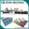 Qualität Belüftung-innerer schäumender Dach-Fliese-Plastikstrangpresßling, der Maschinen-Zeile bildet