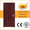 Conception de porte de pièce de PVC de modèle de l'Italie (SC-P098)