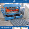 Panneau en acier galvanisé de tuile de toit en métal de PPGI formant la machine