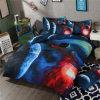 Migliore tessile poco costosa di vendita della casa dell'assestamento della galassia di disegno unico