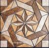 安い大理石のタイルのWaterjet円形浮彫りの床の円形浮彫りのタイル