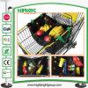 Mehrfachverwendbarer Supermarkt-Einkaufswagen-Beutel mit doppeltem Griff