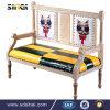 中国安く現代木のLegsfurnitureの居間のソファー