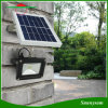12 LED再充電可能な4000mAh 5Wの屋外の庭の街灯太陽痛い目にあったライトを防水しなさい