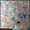 Echt Cork Leer voor de Decoratie van de Muur (hw-653)