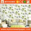 Papel de parede da coberta de parede do efeito do projeto moderno 3D para a decoração Home
