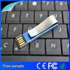 Azionamento ultrasottile 8GB dell'istantaneo del USB dei segnalibri del Paperclip del metallo