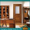 Personalizar portas niveladas de madeira interiores do MDF para casas