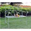 단철 공원 벤치 포도 수확 작풍 앙티크 파랑