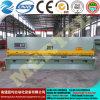 주문을 받아서 만들어진 CNC 시스템 유압 그네 광속은 QC12y-4X4000를 깎는다