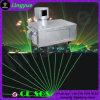 Luce laser esterna di singola animazione verde di luminosità