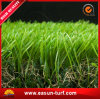 hierba sintetizada suave de 45m m para ajardinar del jardín