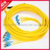 Fibra óptica de FTTH D4 LC Vários patch cables SM
