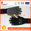 Ddsafety 2017 Knitting machine with Polyester Liner Crinkle Glove Latex