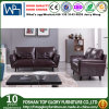 Sofá novo com frame de madeira, sofá antigo do couro do projeto (TG-S212)