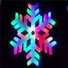 Nuevo motivo de la luz LED de la llegada de la luz de hojuelas para la decoración de Navidad