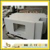 Partie supérieure du comptoir blanche pure de quartz pour la cuisine/salle de bains