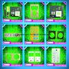 Prodcutivity alto colorido Panel de interruptores de membrana/lentes