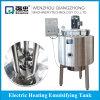 Serbatoio industriale dell'omogeneizzatore di vuoto del miele dell'acciaio inossidabile della macchina del miscelatore del latte