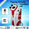 4 In1, die Maschine abnehmen: Cryolipolysis +RF+Cavitation +Lipolaser