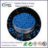 Os grânulos de plástico reciclado de cor azul de HDPE Pellets de grau do Tubo