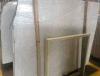 Aranの白い余分大理石の平板のタイル