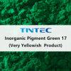 صبغ غيرعضويّ أخضر 17 (جدّا ضارب إلى الصّفرة) لأنّ بلاستيك