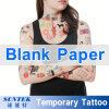 Сейф для бумаги Tattoo кожи Printable пустой временно