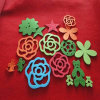 Funny Christmas Crafts Small Felt Hanging Xmas Decorations Felt Ornaments