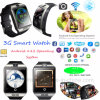 3G Telefoon van het Horloge van WiFi de Slimme met Plons Waterdichte Q18plus