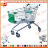 Niedriger Preis-Supermarkt-Euroart-Einkaufswagen (ZHT19)