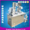 Capsule Machine de remplissage semi-automatique avec PLC et HMI