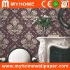 Décoratifs avec papier pur la Formation de mousse de papier peint à motifs floraux blanc
