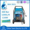 11kw máquina de jacto de areia eléctrica de água para as novas instalações do estaleiro