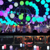 Batterie suspendue en plein air Big LED Light Balls