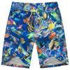 Shorts stampati 2017 della spiaggia di usura di nuotata di Shorts della scheda degli uomini della fabbrica