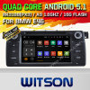 Witson Android 5.1 Car DVD GPS pour BMW E46 1998-2006 avec Chipset 1080P 16g ROM WiFi 3G Internet DVR Support (A5766)
