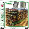 Mensola a doppia faccia economica di memoria della gondola del supermercato