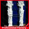 Columna romana con piedra de granito mármol escultura