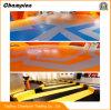 Suelo comercial de PVC/Vinyl para la estación de metro/el omnibus/las escaleras/las fábricas/la corte de bádminton