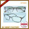 De nieuwe Optische Frames van het Ontwerp met Kleurrijke Parttern Op15009
